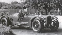 1939. factory entered British team took this Lagonda V12 to 3rd place.