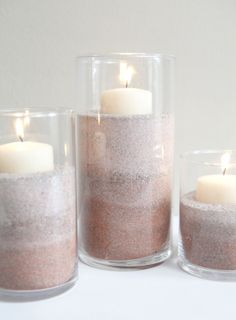 I love the beach and I love sand… but the regular old color of sand can be a tad bit boring. So, here is a quick and super easy way to embellish a simple substance like sand and breathe new c...