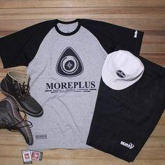 MOREPLUS RAGLAN TEES by #silvasoriginals  #tees #tshirt #raglan #apparel #hat