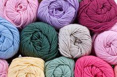 Yarns for Crochet or Knitting