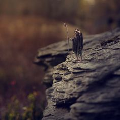 Teenager Splices Portrait and Macro Photos into Miniature Fantasy World Creative Photography, Digital Photography, Art Photography, Miniature Photography, Surrealism Photography, Tiny World, World Photo, Photo Series, Weird And Wonderful