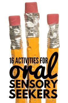 If your child has autism and/or sensory processing disorder, we've got 16 simple to set-up oral motor activities for kids to help with a variety of challenges like picky eating and inappropriate chewing, sucking & biting. Oral Motor Activities, Occupational Therapy Activities, Sensory Therapy, Sensory Tools, Fun Activities For Toddlers, Sensory Diet, Sensory Issues, Autism Activities, Speech Therapy