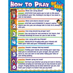 HOW TO PRAY FOR KIDS