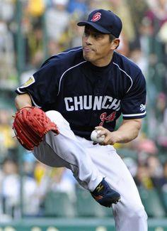 山本昌の投球フォーム、かっこいいんだよなー。
