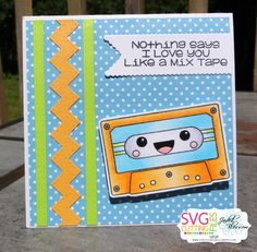 The Cricut Bug: Jaded Blossom June Release Day 3- Mix Tape