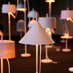 Illuminated by Per Wästberg (Wästberg) is the latest collection by the Swedish lighting company. The collection is designed by Nendo to have modular parts and create over 30 iterations from a standard component set. Table lamp today, floor lamp tomorrow.
