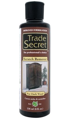 Trade Secret: Scratch Removers for Wood