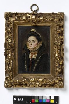Portrait of Isabella Clara Eugenia, daughter of Philip II of Spain | Coello, Alonso Sanchez