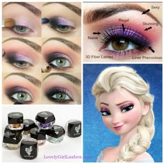 The perfect look for your little Elsa's next Halloween or birthday party! #frozen #letitgo #younique