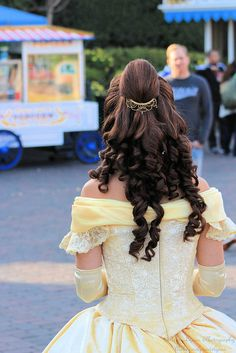 "Someday I want to be one of the Belle's at Disneyland she's always been ""my"" princess <3"