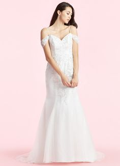 4ca33560c05 Shop Azazie Wedding Dress - Anya BG in Tulle and Lace. Find the perfect wedding  dress for your big day. Available in full size range and in custom sizing  at ...