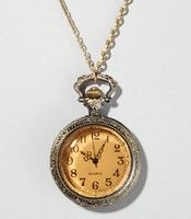 I still want a clock necklace .. hate that I'm allergic to silver :(