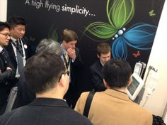 Live demos to explore FlowSens new solution for CT injection, at the Guerbet booth.