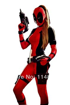 Lady Deadpool [No whites on eyes, not custom]