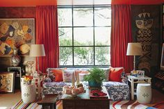 """The globe-trotting Dallas designer and shopkeeper likes to go big and exotic. In her first book, she shows off her """"more is more"""" sensibility."""