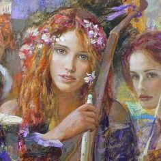 goyo dominguez 1960 spanish born british romantic realist painter goyo ...