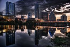 Austin, Texas, just love the skyline. Great Places, Places To See, Places Ive Been, Amazing Places, Places Around The World, Around The Worlds, Beautiful World, Beautiful Places, Austin Skyline