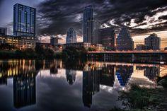 Austin, Texas, skyline.