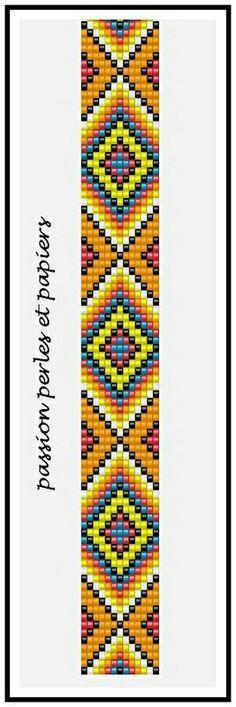 off loom beading techniques Loom Bracelet Patterns, Seed Bead Patterns, Bead Loom Bracelets, Weaving Patterns, Jewelry Patterns, Snake Patterns, Loom Bands, Motifs Perler, Beading Techniques