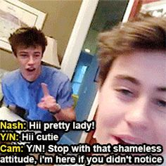 Cameron Dallas is a really jealous boyfriend, especially when his friends decide to flirt with you. Description from tumblr.com. I searched for this on bing.com/images