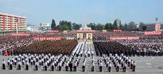 핵탄두폭발시험성공을 경축하는 함경남도군민련환대회 진행-《조선의 오늘》