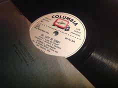 "Rare 1951 Erroll Garner 10"" 78 rpm - Columbia Radio Broadcast record by VinylRocket #TrendingEtsy"