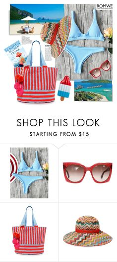 """""""Romwe."""" by natalyapril1976 ❤ liked on Polyvore featuring Etro, Sophie Anderson, Missoni Mare and Bora Bora"""