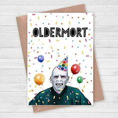 Best Friend Birthday Cards, Birthday Cards For Her, Bday Cards, Funny Birthday Cards, Diy Birthday, Birthday Greetings, Birthday Wishes, Creative Birthday Cards, Harry Potter Birthday Cards