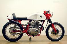 1972 honda cl350 cafe. lossa engineering.