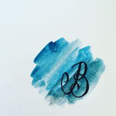 #HandletteringABC #B #Calligraphy #Watercolor #Watercolourcalligraphy #Watercolourlettering #Lettering #Handwritten #Writemesomeletters