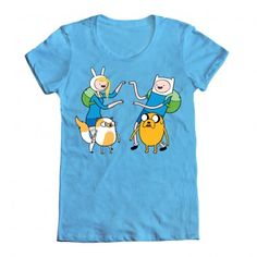 Fionna and Cake and Finn and Jake!