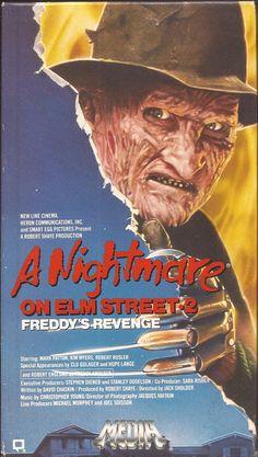 A Nightmare On Elm Street 2: Freddy's Revenge VHS