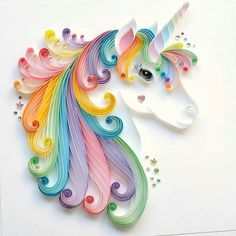 By @thebeehivedesign - _ #unicorn #unicorns #quillingartist #quillingart #quilled #quilledart #quillingpaper #paper #paperart #paperartist #quilling #fantasy #rainbow #wallart #artvsarts #LGenPaper #etsyonsale #etsy #etsyshop #etsyshare #htlmp #craftsposure #craftbuzz #colour #colourful #art_we_inspire #handmade #etsyshoppromotion #Regram via @artworld_daily