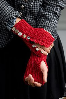 DIY Crochet Projects, Stitches, and Patterns gloves Fingerless Gloves Crochet Pattern, Fingerless Mitts, Knitted Gloves, Diy Crochet Projects, Crochet Crafts, Knit Crochet, Wrist Warmers, Hand Warmers, Knitting Patterns