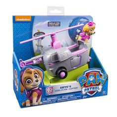 Nickelodeon  Paw Patrol  Skye's High Flyin' Copter   NEW  VHTF  Hot Toy #SpinMaster