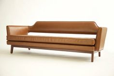Edward Wormley Open Back Sofa For Sale at 1stdibs