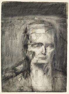 Frank Auerbach, 'Head of E.O.W.' 1959–60