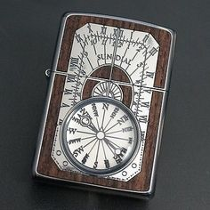 ZIPPO-Lighter-ANTIQUE-SUNDIAL-Wood-Inlay-Both-Sides.jpg (400×400)