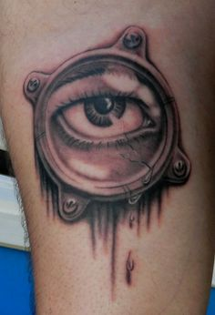 Eye tattoo by Sirius-Tattoo on DeviantArt