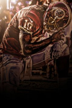 RG3 art by @LeftCoastGFX