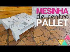 MESINHA DE CENTRO COM PALLET | DIY Reforma da Sala - YouTube