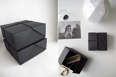 LET'S BE CREATIVE | DESIGN AND FORM Present boxes
