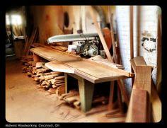 Large capacity sliding miter saw.