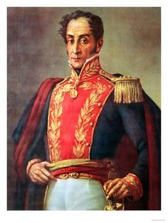 things simon bolivar did Colombia Independence, American Independence, South America Map, Chibi Anime, South American Countries, Eastern Star, Caravaggio, Military Art, Bolivia