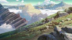 AnimeBackgrounds: Hoshi wo Ou Kodomo/Children Who Chase Lost...