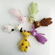 Minis crochet patterns by Little Bear Crochets: www.littlebearcrochets.com ❤️ #littlebearcrochets #amigurumi