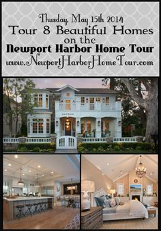newport beach: 5 gorgeous homes in Newport Beach Newport Beach, Newport Harbor, Coastal Homes, Coastal Living, Style At Home, Architecture Design, Interior And Exterior, Diy Interior, Interior Design