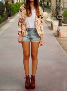 the floral blazer completes this look!