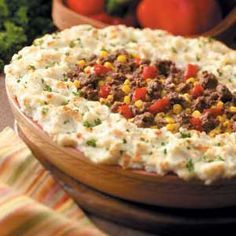 best shepherd's pie recipe from Taste of Home. This one is my husband's FAVORITE.