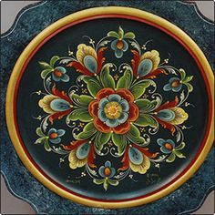 simple rosemaling - Google Search